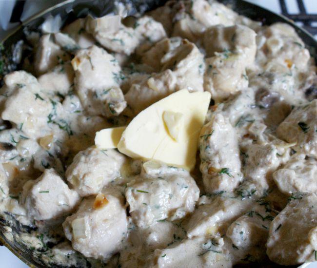 Шампиньоны курица рецепты приготовления